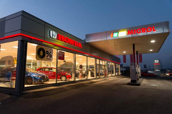 Honda automobiles aigle for Garage honda poitiers